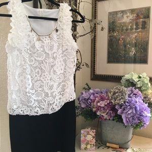 Oyuncini dress frilly ruffles sleeveless short